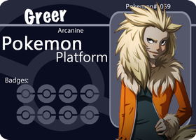Greer - Arcanine Gijinka by Paper-Rabbit