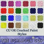 Cracked Paint Photoshop Styles by debh945