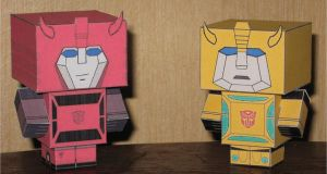 G1 Jumper and Bee Cubees by paperart