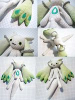Amigurumi Custom Green Kyubey by periwinkleimp