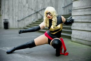 Ms Marvel - A.I.M. and fire by etaru