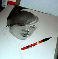 32nd Drawing 08 WIP by KLSADAKO