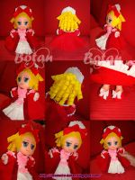 chibi Maria Antonietta plush version by Momoiro-Botan