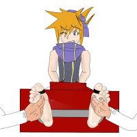Neku tickled by alan-underfoot