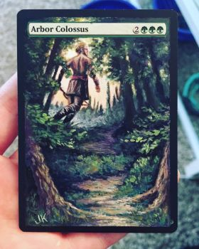 Arbor Colossus Alter by jenimal