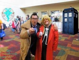 Doctor Who  And Edward Elric Gen-Con 2013 by DuoSmexyMaxwell