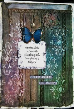 Art Journal Page - Fairytale by polina1233