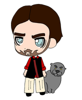 Seneca Crane by BertMel