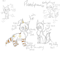 Floralpaw updated ref by XWilted--RoseX