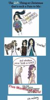 Noldor: 8th Pain of Christmas by Gwenniel