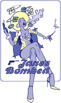 'Jane's Bombed' by rawsharkart