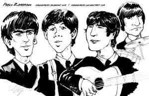 Beatles by shinobimerc