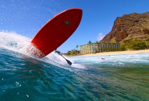 SUP Surfing by manaphoto