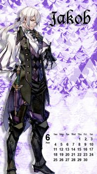 Fire Emblem Phone Background - Jakob by MonicaJohnson0647