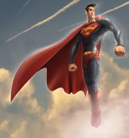 Man of Steel by scissortail