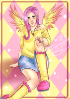 +.Fluttershy.+ by Goddess-In-Green