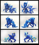 Evening Song + Luna 3D-Printed Figures by Clawed-Nyasu