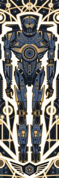 Pacific Rim - Gypsy Danger by FabledCreative