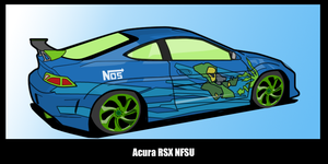 NFSU acura rsx by fuzzynoise