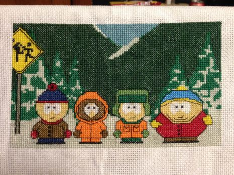 These Boys - Cross Stitch by XCourtanieX