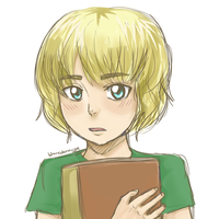 SnK: Little Armin by blamedorange