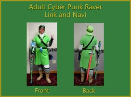 Cyber Punk Raver Link Adult Version 03 by LyraAlluse