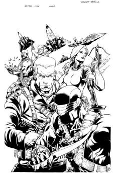 GI JOE 1 cover by RobertAtkins