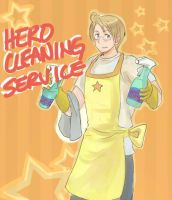 Hero Cleaning Service by maybebaby83