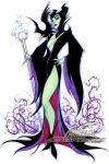 Maleficent by J-Scott-Campbell