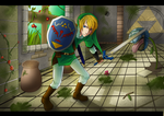 The Legend of Zelda: Forest Temple by StupidShepherdDog