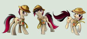 Scoutmaster Marshall by Geminas0wng