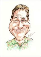 Robin Williams - Caricature by libran005