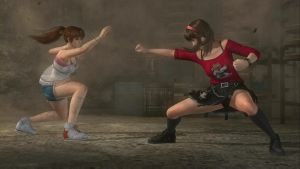 House Fight: Hitomi vs Kasumi 12 by SwarmlordTrainee