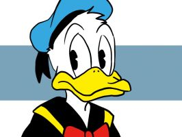 Donald Duck by dalf-rules