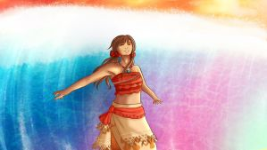 [APH/Moana] Seychelles- 'How Far I'll Go' by Ms-Filou
