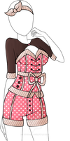 Dress Adoptable 04 - Closed by Tropic-Sea