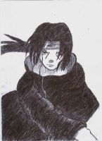 Itachi Uchiha from Naruto by DarkMatterFreak