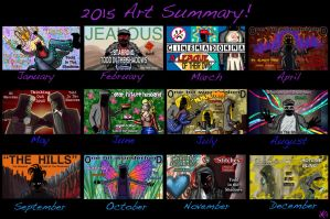 2015 Art Summary! by TheButterfly