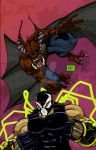 Bane and Man-Bat team up. by jasonhattery