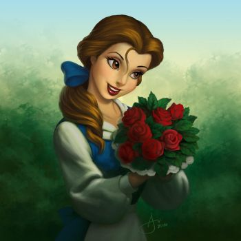 Belle - Coloring Page by tony808