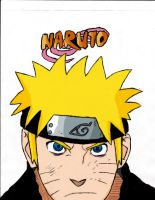 Naruto Colored by ReneReaper