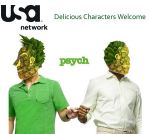 Psych: Delicious characters by Marli