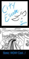 City Escape comic by idolnya