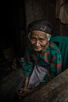 old woman by heribudianto