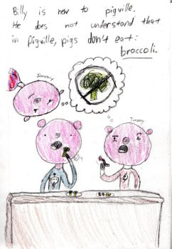 The Ways of Pigville #1 - Say No To Broccoli by IamPiggg