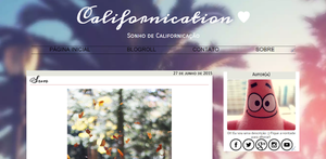 Template Free Blogger - Californication by entreasmemorias