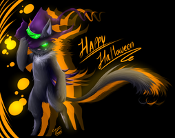 Happy Halloween by Kazigama