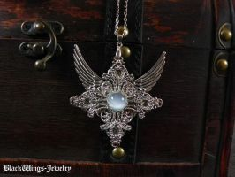 Ice Queen by BlackWings-jewelry