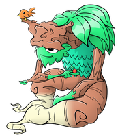 Coloured! Plant Being by Gnarlee