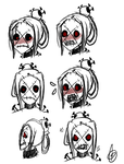 Painwheel icons, mask expressions by X-XGrellX-X